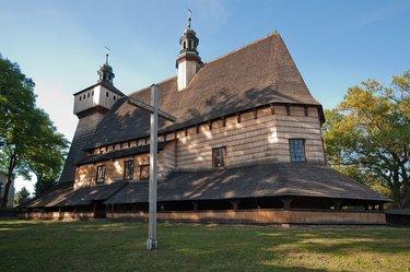 деревянные церкви древней польши