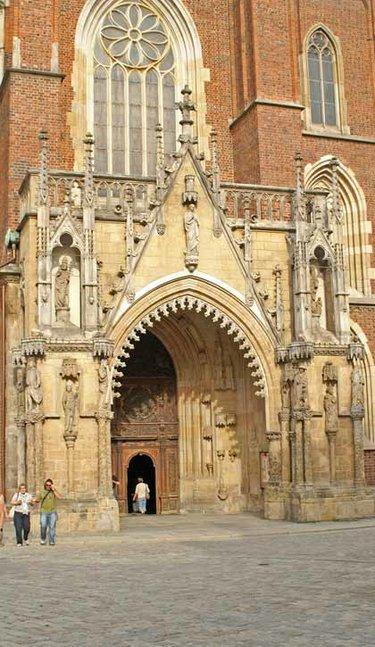 кафедральный собор иоанна крестителя вроцлав