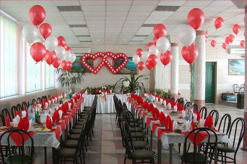 Использование воздушных шариков на свадьбе правильное направление оформления своими руками