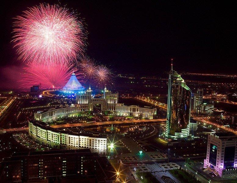 Открытка казахстан
