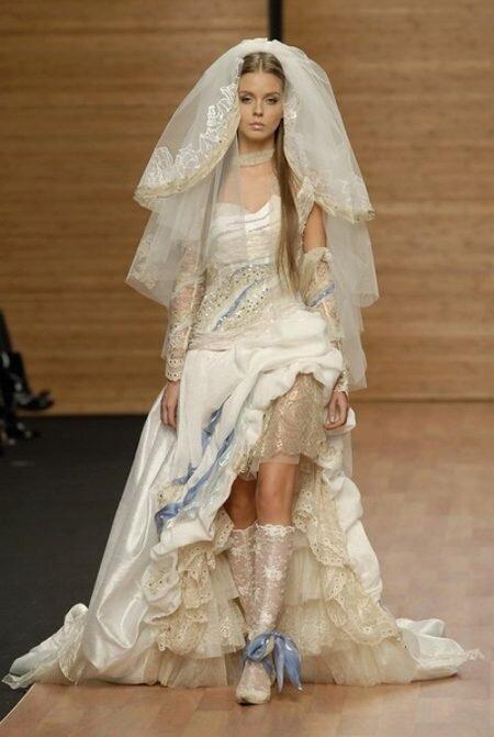сапожки для свадьбы в холодные месяцы - это тепло, уютно и стильно