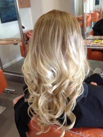 фото амбре для светлых волос