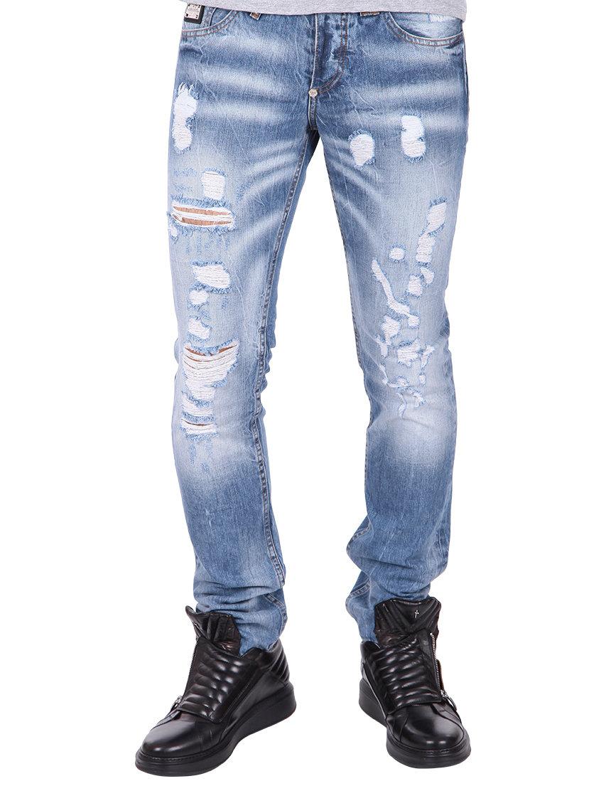 Мужские джинсы с очень высокой талией корсет