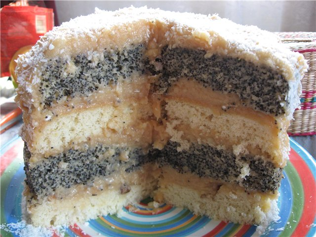 бисквит на сгущенке рецепт с фото в мультиварке
