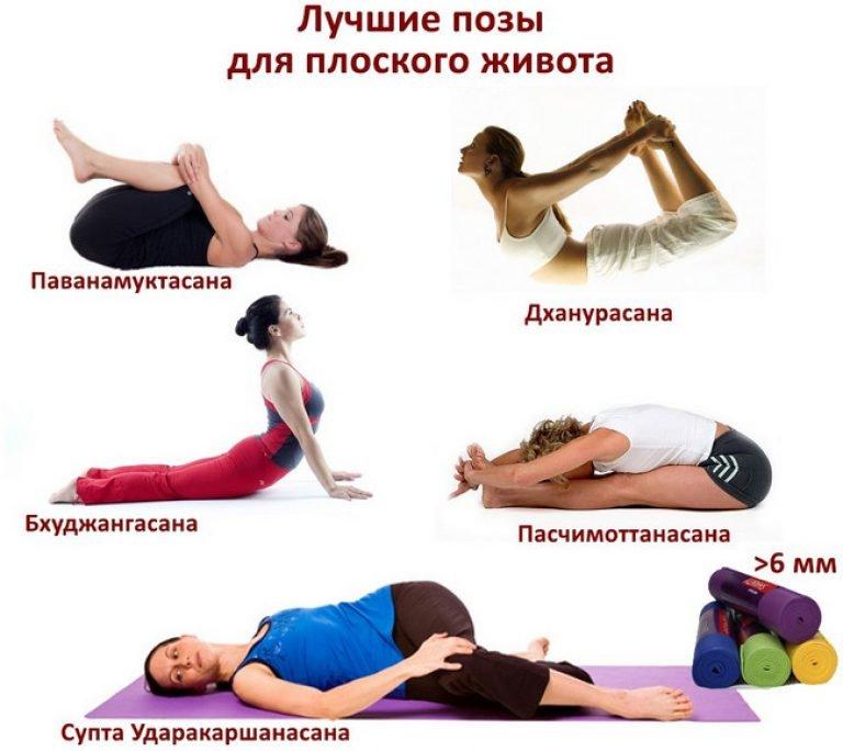 простые способы похудения живота