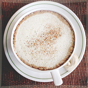 рецепт кофе раф лавандовый