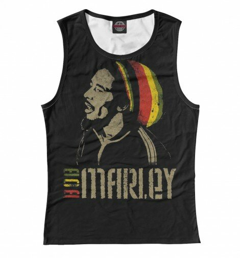 Майка для девочки Bob Marley