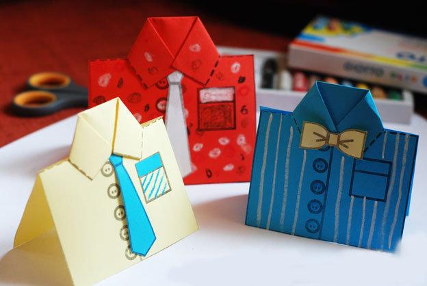 Детские открытки к 23 февраля подарки папе своими руками!