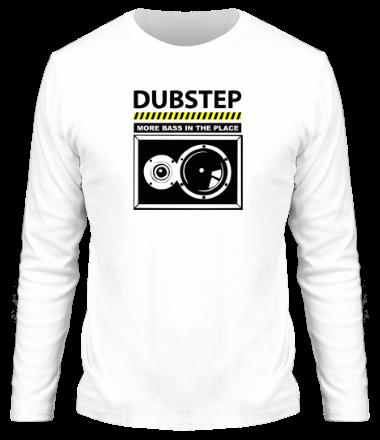 Мужская футболка с длинным рукавом Dubstep