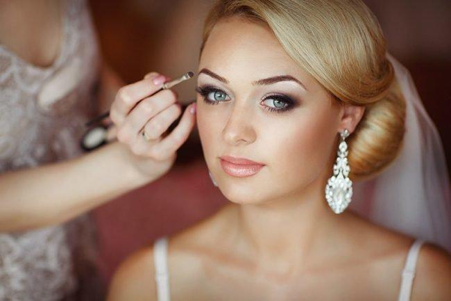 Макияж невесты для блондинок фото