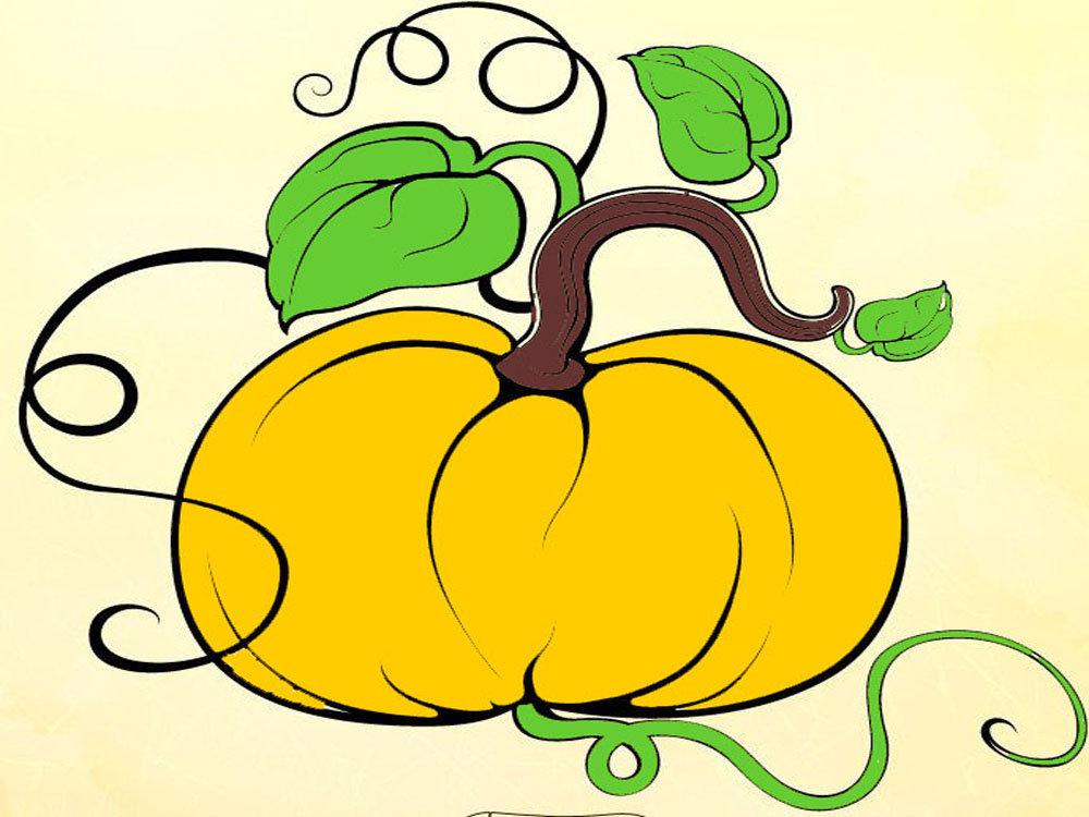 рисунок про овощей тех пор этот