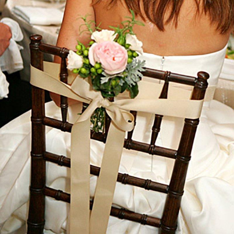 Украсить стулья на свадьбу своими руками недорого