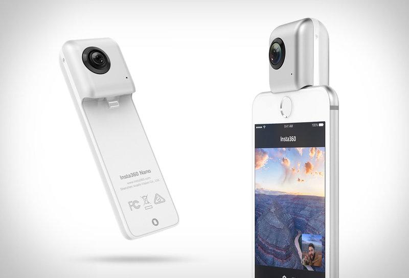 Категория камеры — Insta360 Nano и Pro
