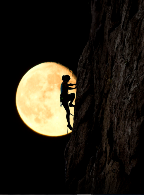 Красивое фото луны