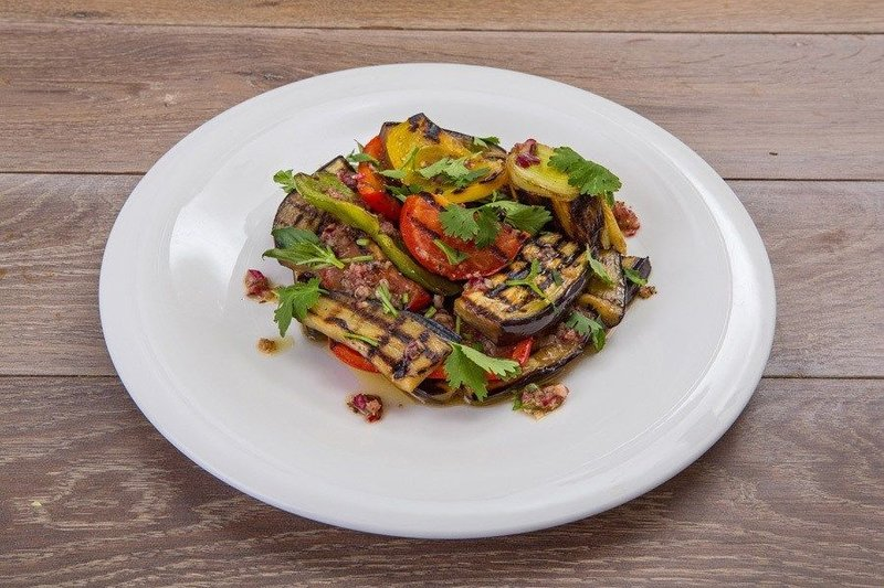 Гриль салат фото