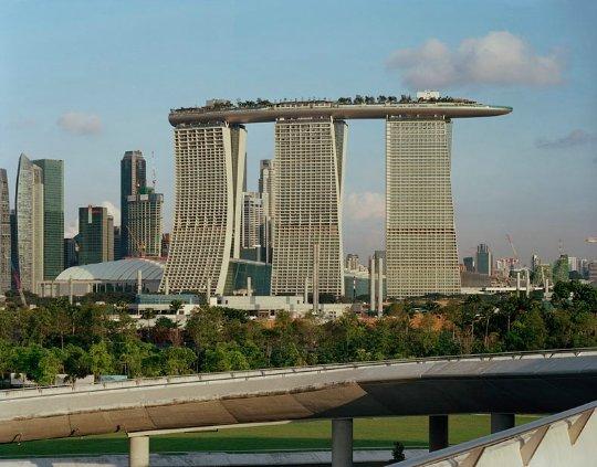 Здание «Марина Бэй Сэндс» - достопримечательность Сингапура