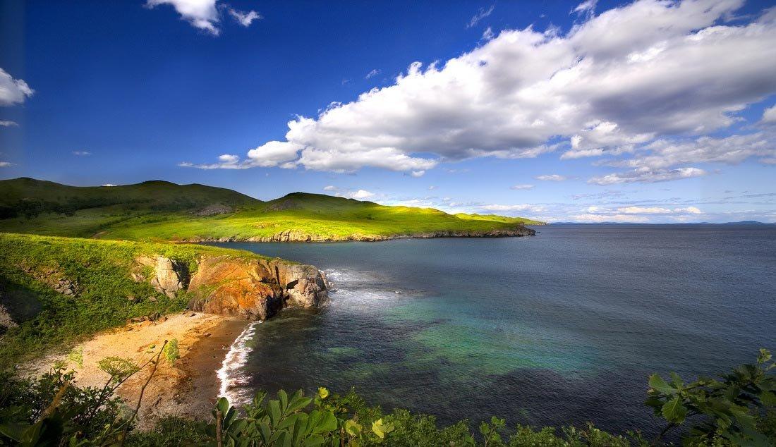 что красивые приморские пейзажи фото выпускались методом