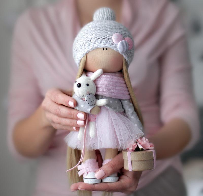 Выкройка куклы ёжик