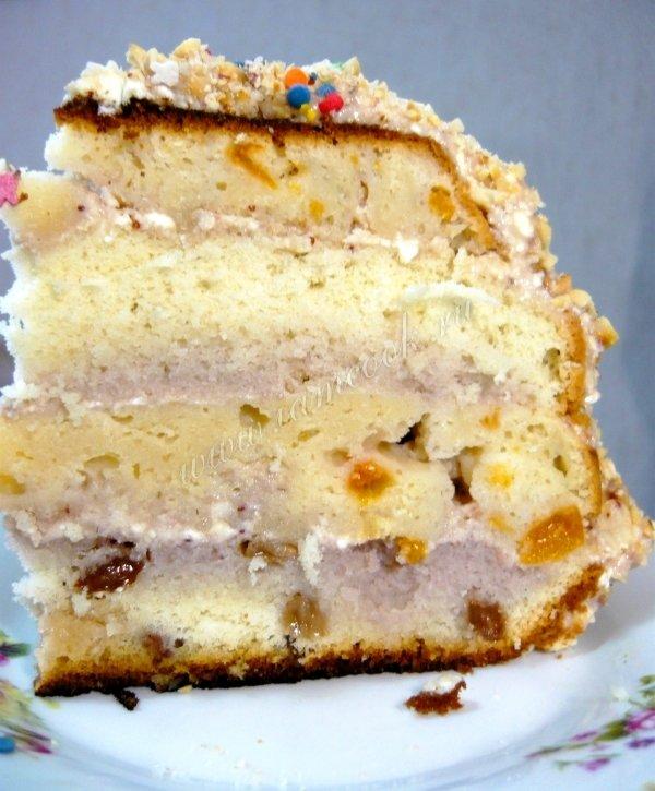 К чему снится торт с орехами очень вкусный
