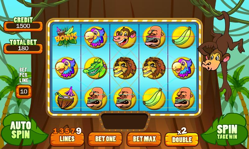 игровые автоматы обезьянки на андроид