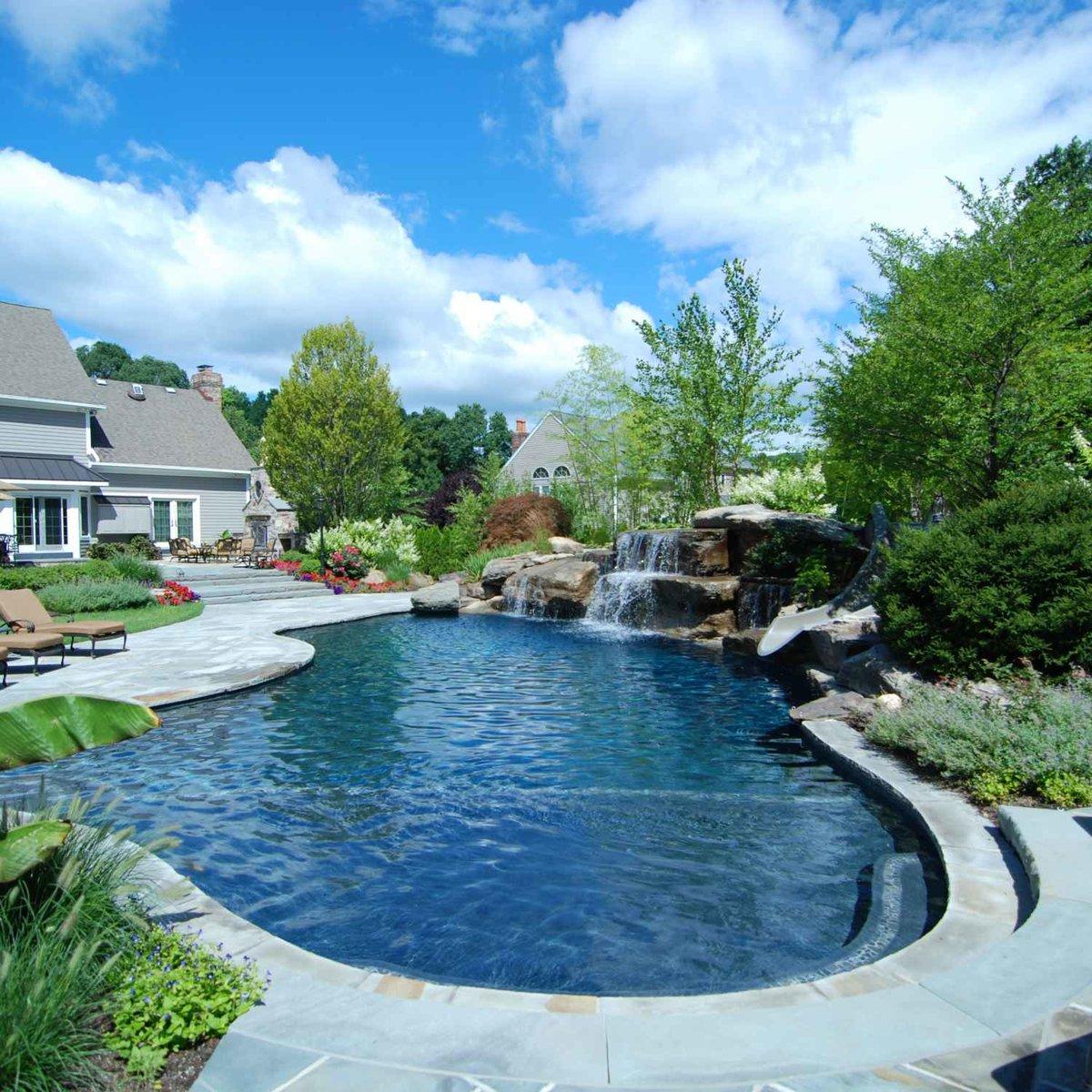 epic private backyard pools - HD1200×1200