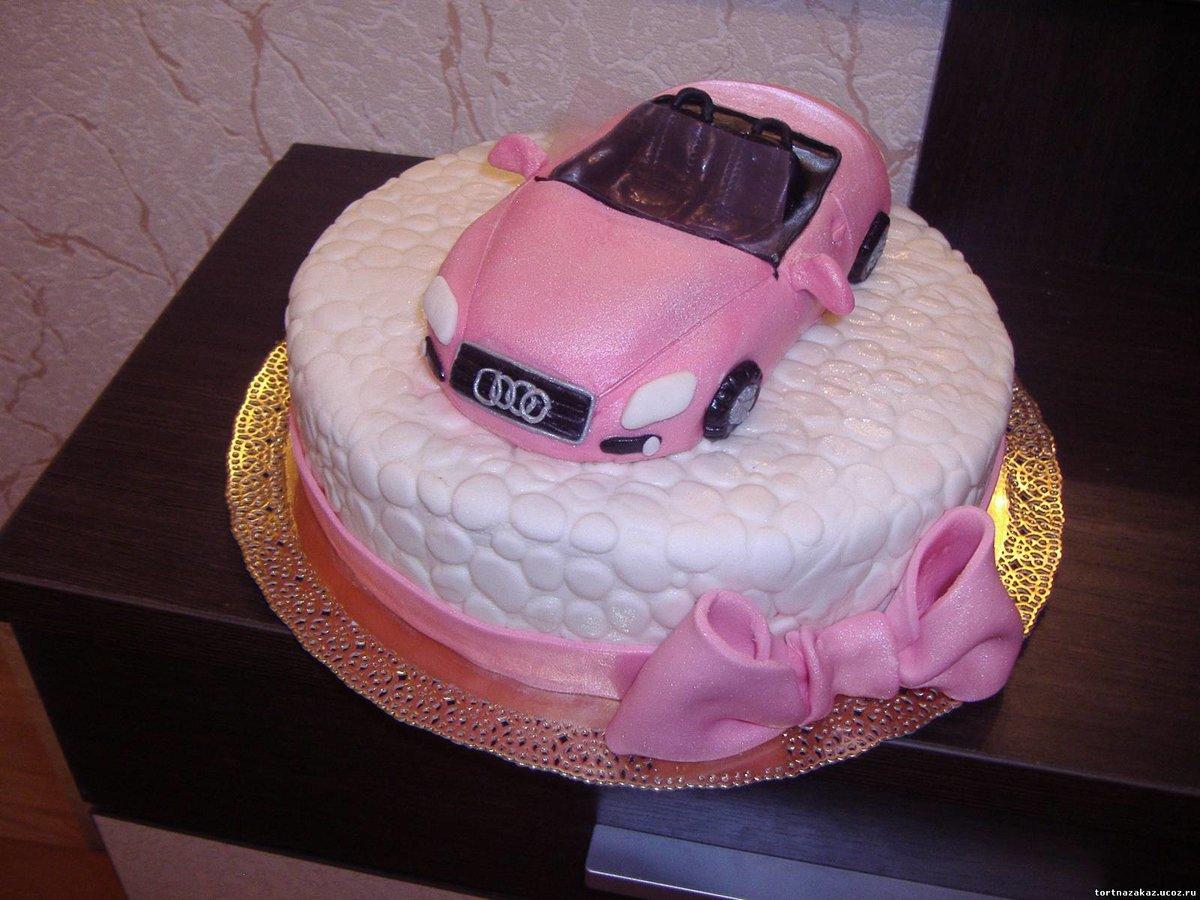 Торт машинка для девочки