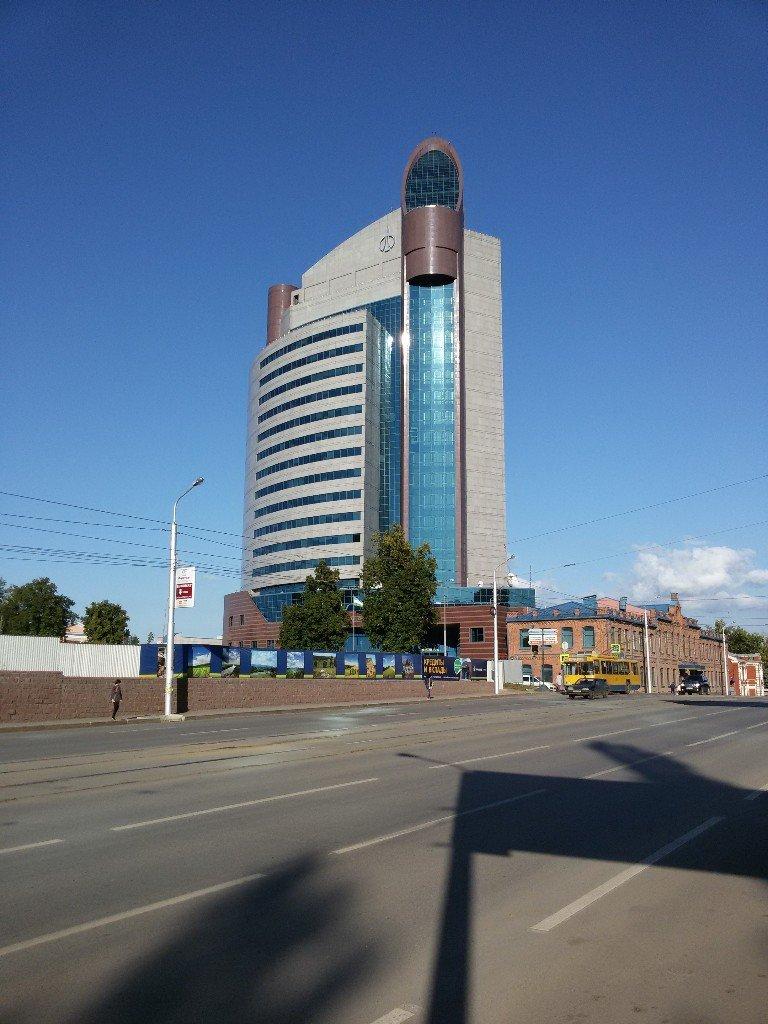 Самое высокое здание в Уфе