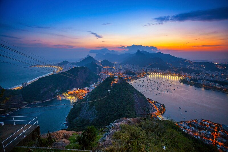 Природа Бразилии шикардос
