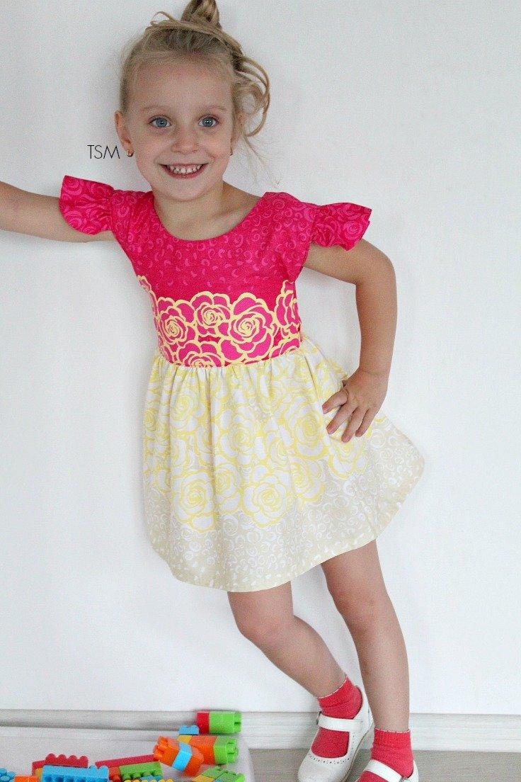 Сшить платья в горошек на девочек фото 989