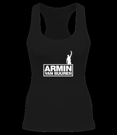Женская майка борцовка Armin Van Buuren