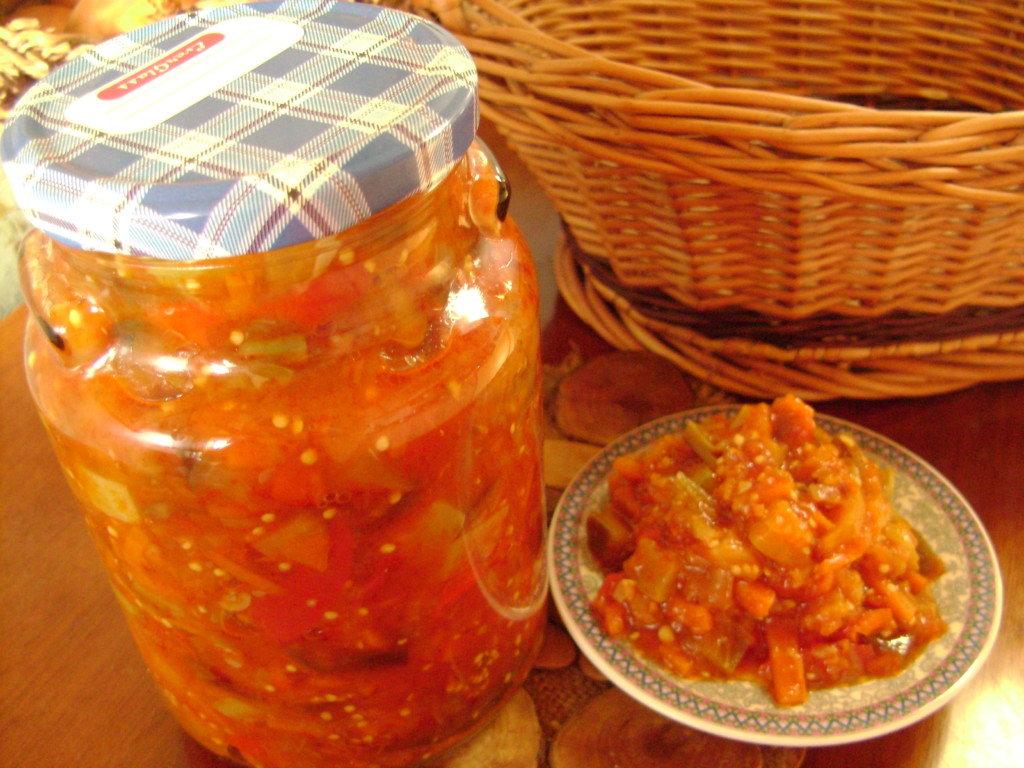 рагу овощное на зиму с капустой
