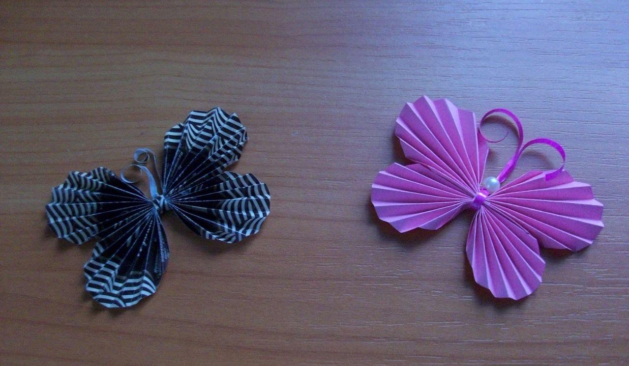 Объемная бабочка из бумаги своими руками фото 875