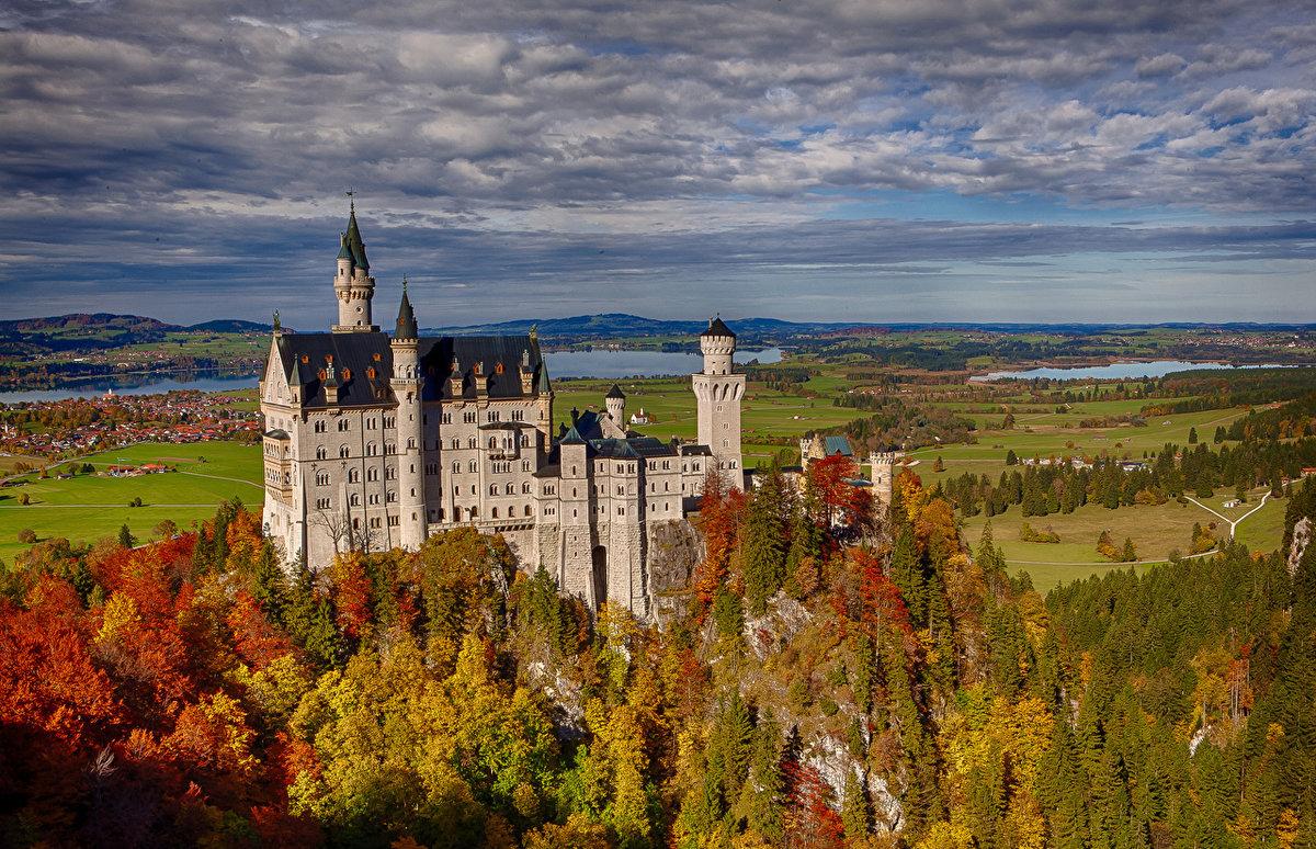 Замечательные осенние виды Германии