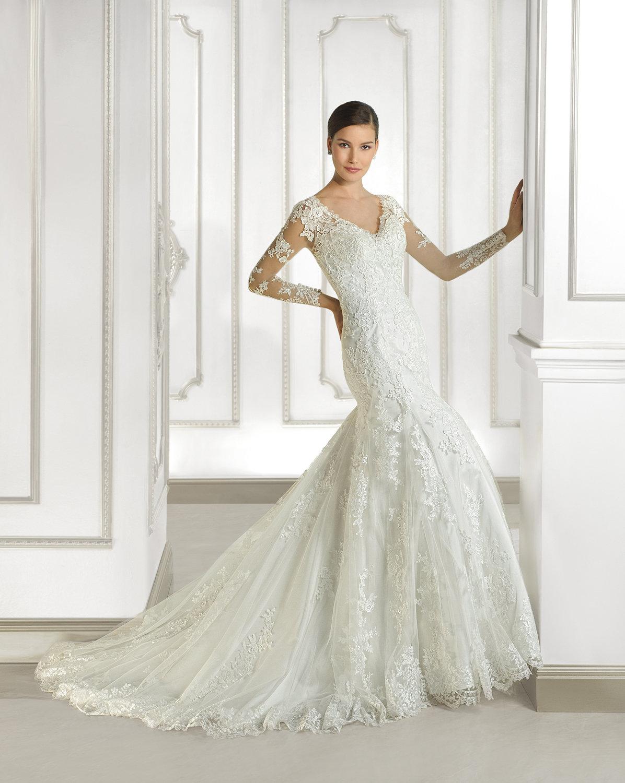 6cae72b002d9b64 Волшебное свадебное платье с хвостом Волшебное свадебное платье с хвостом