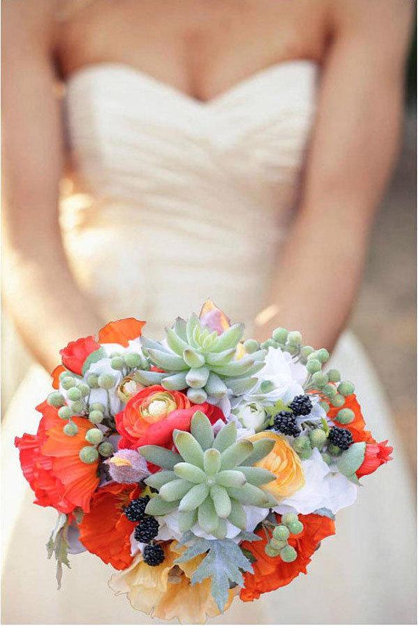 Свадебный, свадебный букет не из цветов