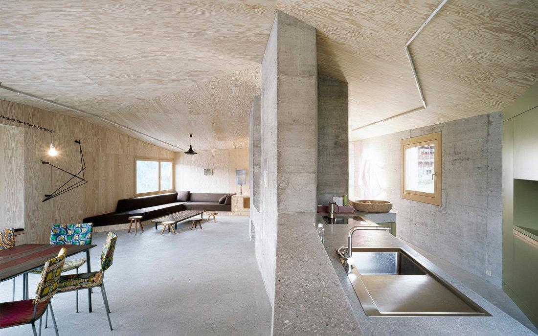монолитный потолок отделка