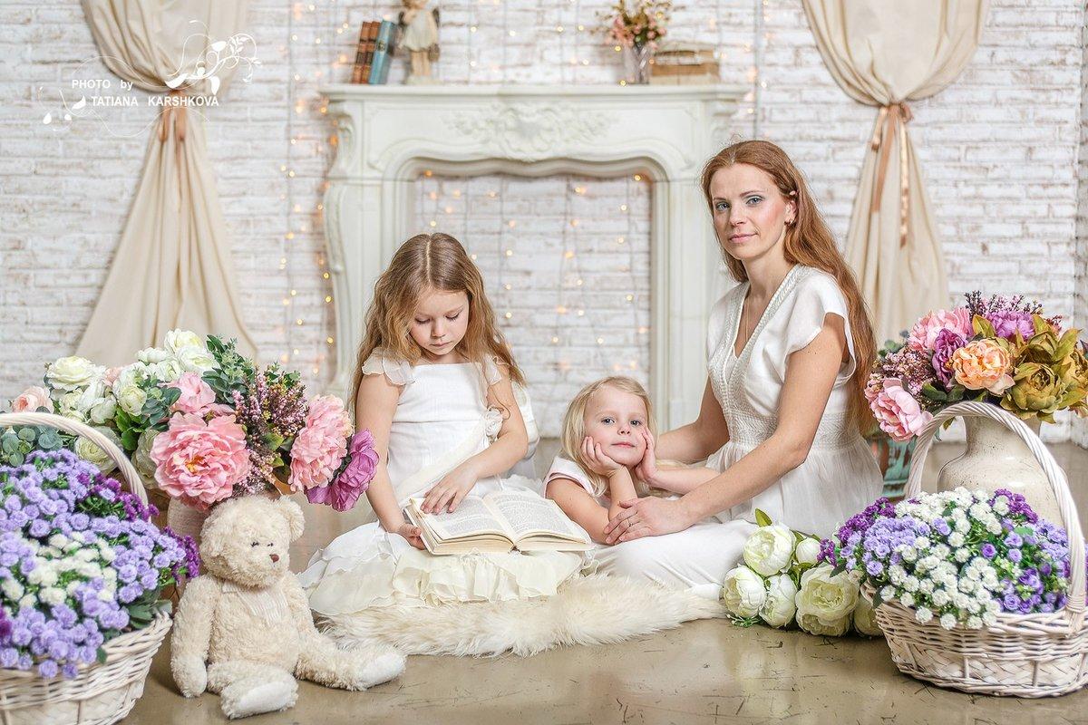студийная фотосессия с детьми москва