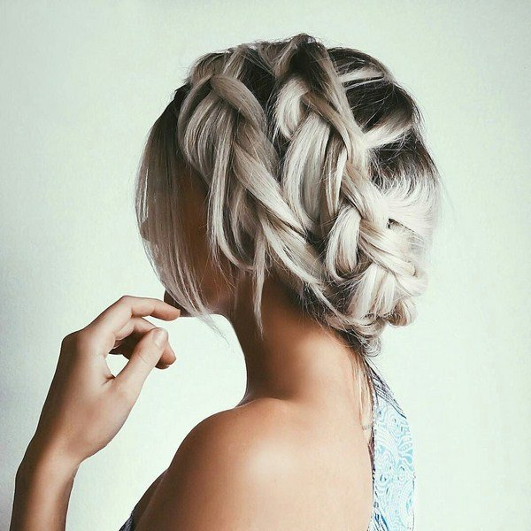 Красивые прически косами фото