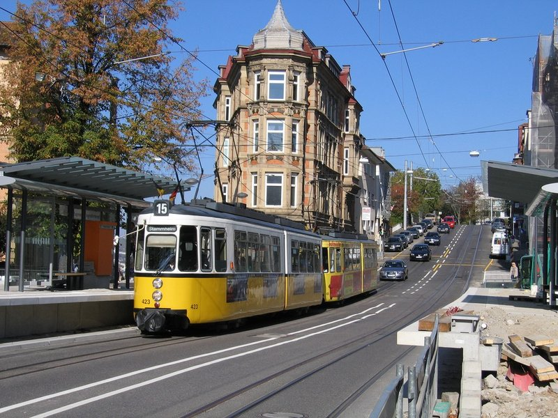 городская трамвайная ветка, Штутгарт