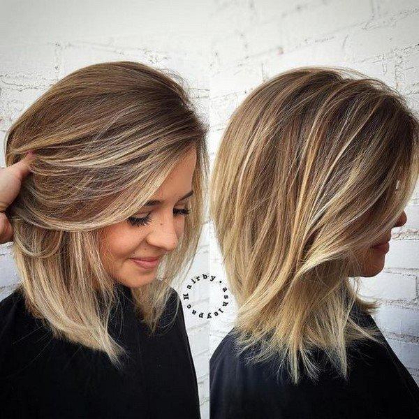 Виды каре на средние волосы