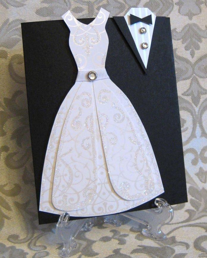 платья для невесты открытки российский