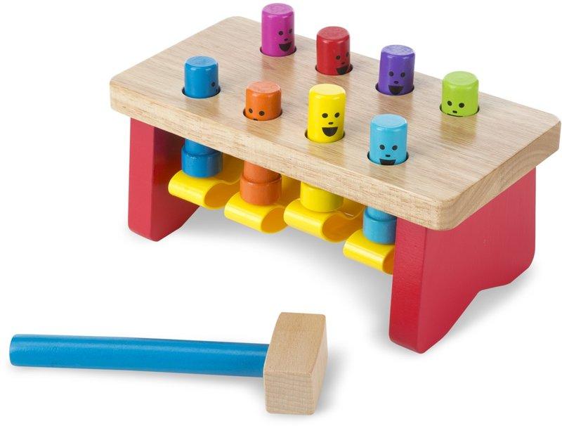Купить Детская игра-стучалка Melissa & Doug Забить в лунки