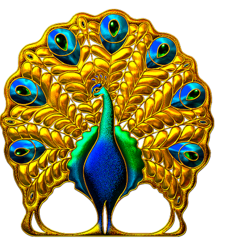 перо жар птицы анимационная картинка тому они
