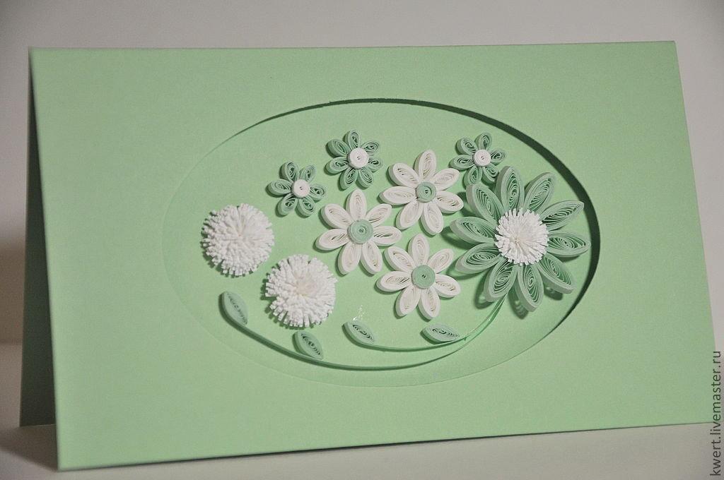 вариант цветы из бумаги квиллинг для открытки своими руками дополняла информация названием