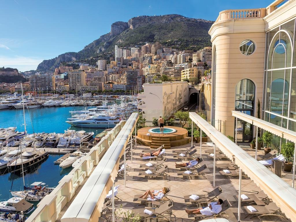 Отели монако фото