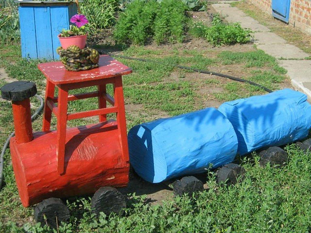 говорит самоделки для сада в украине фото пройдены, фотошоп освоен