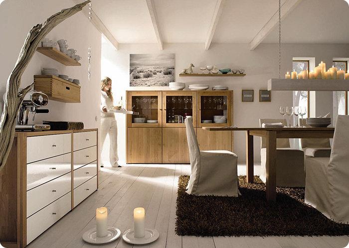 Интерьер кухни в экологическом стиле