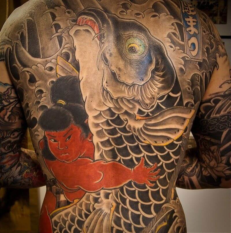 japanese tattoos irezumi meaning and history with pictures - 800×805