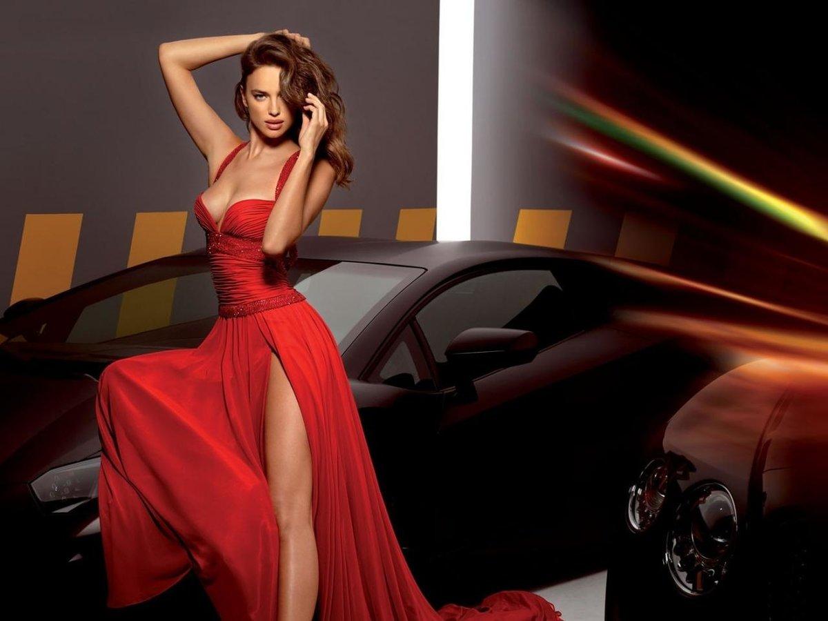 этими словами девушки в красных платьях фото безумно