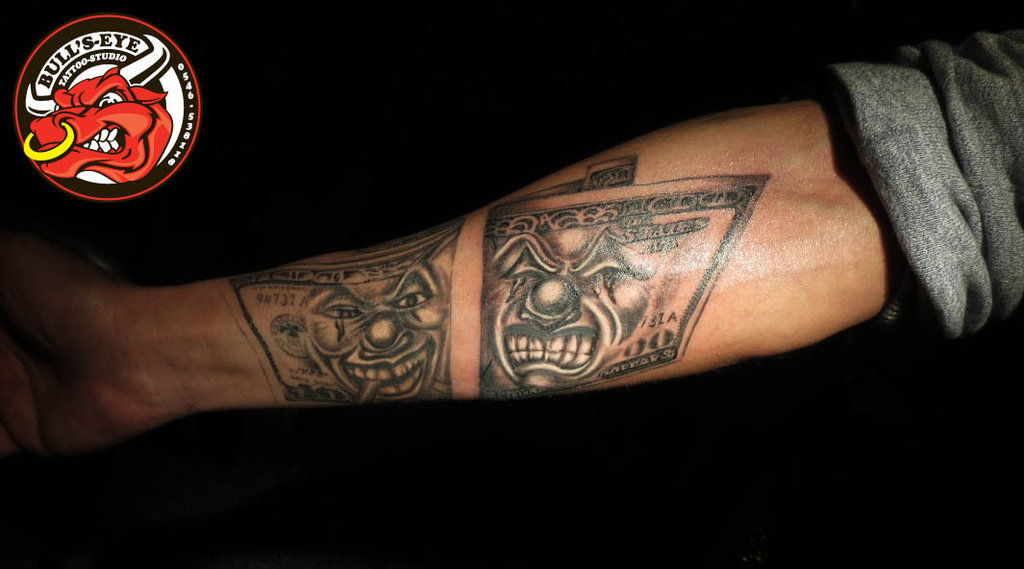 разряду ностромо доллар тату фото значение рядом